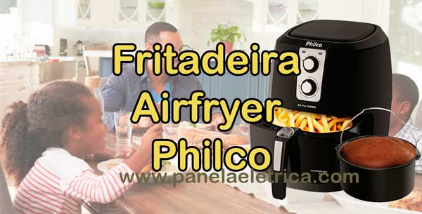 Fritadeira Airfryer Philco